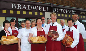 Bradwell Butchery and Dellicatessen's staff