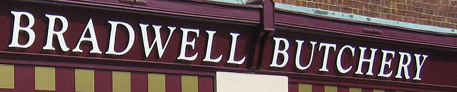 Bradwell Butchery branding
